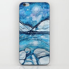 Magical Night Sky in the Rockies iPhone Skin