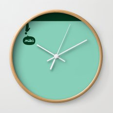 WTF? De cabeza! Wall Clock