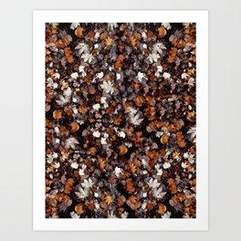 Fall Leaves II Art Print