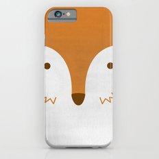 Mr Fleecy Fox iPhone 6s Slim Case