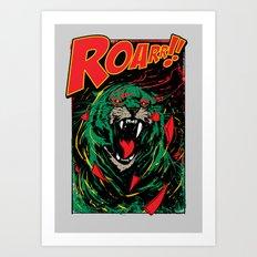 Cringer Roar Art Print