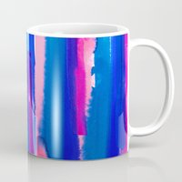 study Mugs featuring Color Study by Jacqueline Maldonado