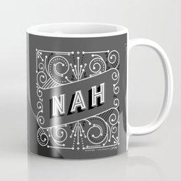Nah – Black & Grey Palette Coffee Mug