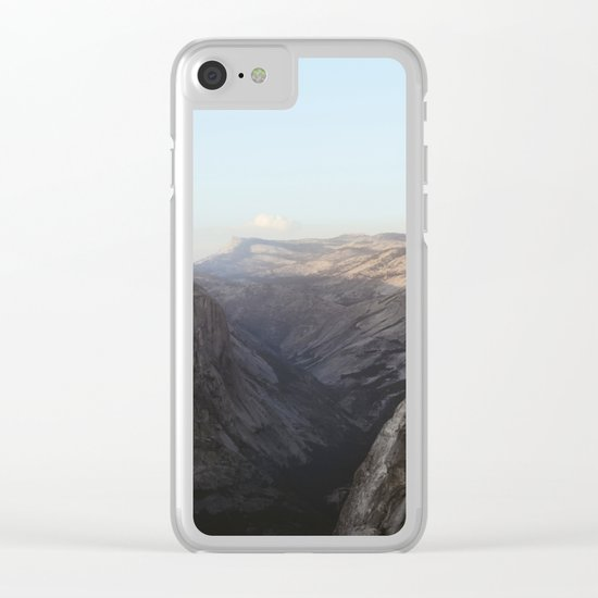 Half/North Clear iPhone Case