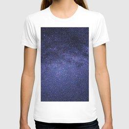 night stars-milky way T-shirt