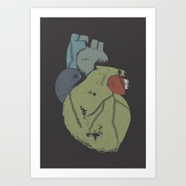 Wounded Heart Art Print