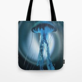 The Blue Jelly Tote Bag