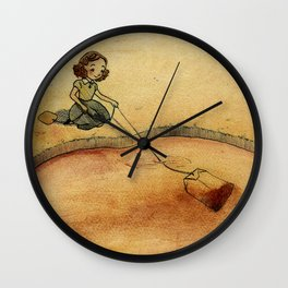 Only tea int the world Wall Clock