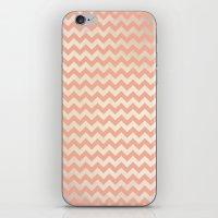 peach iPhone & iPod Skins featuring Peach by C Designz