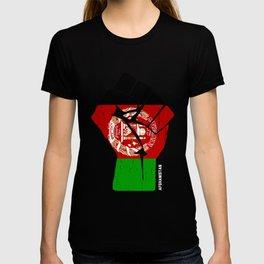 Team Afghanistan Flag T Shirt T-shirt