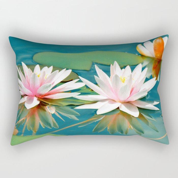 Waterlily 250 Rectangular Pillow