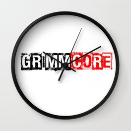 JOIN THE GRIMMCORE Wall Clock