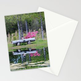Fishing At The Pond Stationery Cards