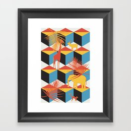 mammalia Framed Art Print