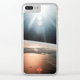 Apollo 7 - Florida Peninsula Clear iPhone Case