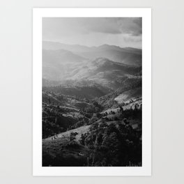 Mountain in Thailand  Art Print