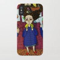 school iPhone & iPod Cases featuring SCHOOL by nu boniglio