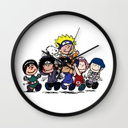 Naruto Gang Wall Clock