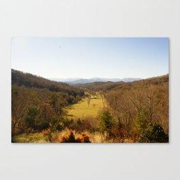 Fall in Carolina Canvas Print