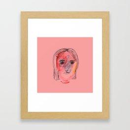 Fishy Stones Framed Art Print