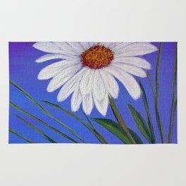 White daisy -2 Rug