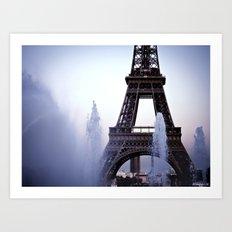Tour Eiffel Art Print
