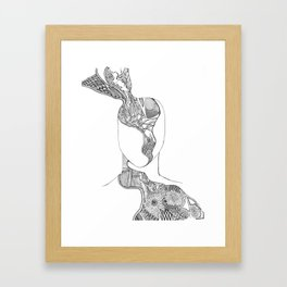 Mind Matter Framed Art Print