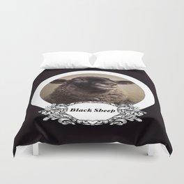 Black Sheep (Plain Version) Duvet Cover
