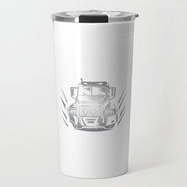 Some Smoke Weed I Hit Throttle Trucking T-Shirt Travel Mug