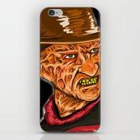 freddy krueger iPhone & iPod Skins featuring Freddy Krueger by Art of Fernie