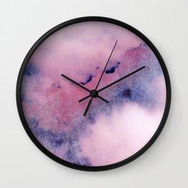 clouds series Wall Clock