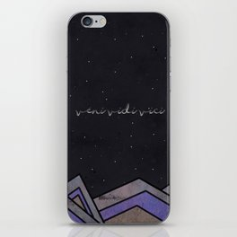 MoveMountains - Veni Vidi Vici iPhone Skin