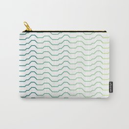 Ombre Waves Carry-All Pouch