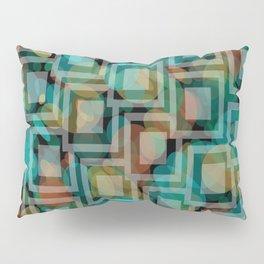 Black and White Squares Pattern 07 Pillow Sham