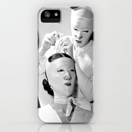 Saving Face iPhone Case