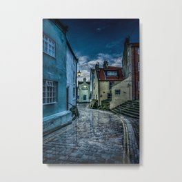 Cobbled Way Metal Print