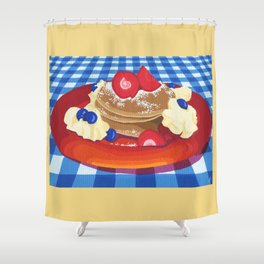 Pancakes Week 10 Shower Curtain