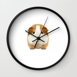 Guinea Pig Make me Happy People Wheek Gift Idea Wall Clock