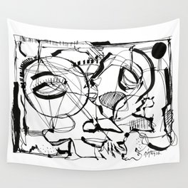 The Struggle Wall Tapestry