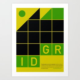 Not a Guarantee poster Art Print