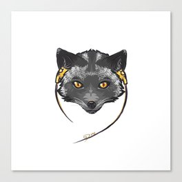 Quicksilver Canvas Print