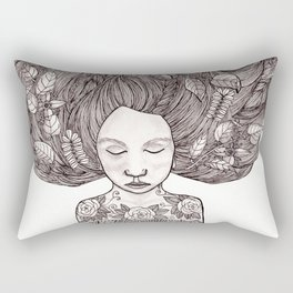 Bad Hair Day II Rectangular Pillow