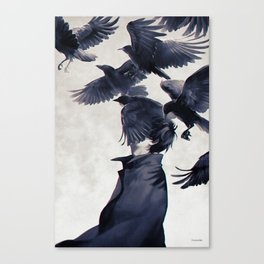 I wish that I could fly ... Canvas Print