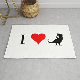 I Love Dinosaurs - T-Rex Rug
