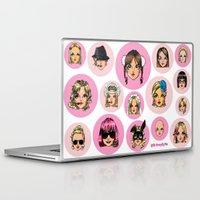 cartoons Laptop & iPad Skins featuring CartooNEY - Britney Spears Cartoons by Eduardo Sanches Morelli
