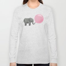 Jumbo Bubble Gum  Long Sleeve T-shirt