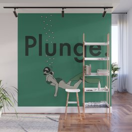 Plunge Wall Mural