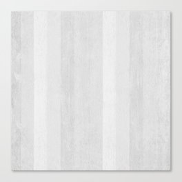 Gray Stripe Pattern Canvas Print
