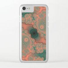 Clouded Dreams Clear iPhone Case