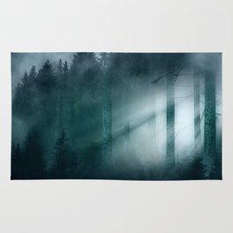 Through the mist Rug